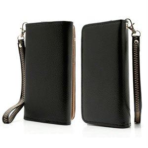 Billede af Flot taske med rem og kreditkortholder - sort