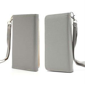 Billede af Flot taske med rem og kreditkortholder - grå