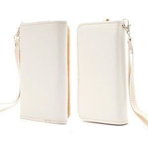 Billede af Flot taske med rem og kreditkortholder - hvid