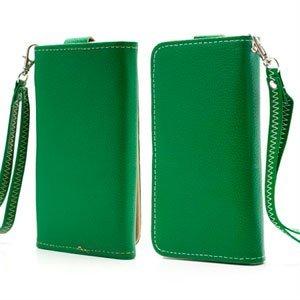 Billede af Flot taske med rem og kreditkortholder - grøn