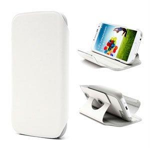 Billede af Samsung Galaxy S4 Rotating Taske/Etui Med Stand - Hvid