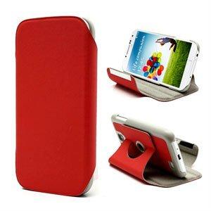 Billede af Samsung Galaxy S4 Rotating Taske/Etui Med Stand - Rød