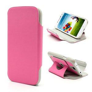Billede af Samsung Galaxy S4 Rotating Taske/Etui Med Stand - Pink