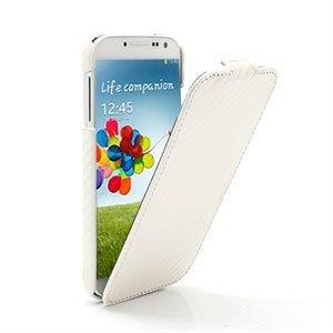 Billede af Samsung Galaxy S4 FlipCase Taske/Etui - Carbon Hvid