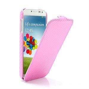 Billede af Samsung Galaxy S4 FlipCase Taske/Etui - Carbon Pink