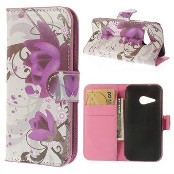 Billede af HTC One Mini 2 Flip Cover Med Pung - Lotus Flower
