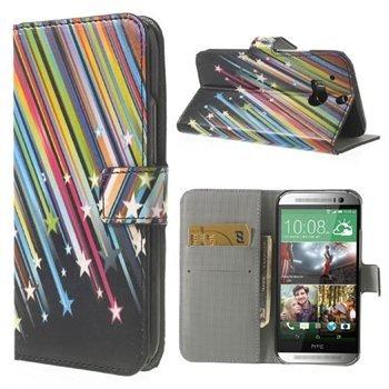Billede af HTC One M8 FlipStand Taske/Etui - Meteor