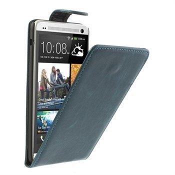Image of HTC One max FlipCase Taske/Etui - Blå
