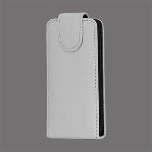 Image of HTC One V taske/etui med fliplukning - hvid