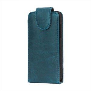 Image of HTC One V taske/etui med fliplukning - blå