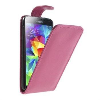 Billede af Samsung Galaxy S5/S5 Neo FlipCase Taske/Etui - Rosa