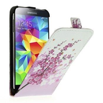 Billede af Samsung Galaxy S5/S5 Neo Flip Cover - Plum Blossom