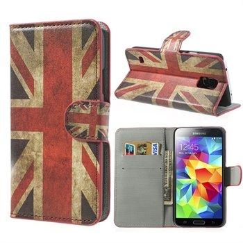 Billede af Samsung Galaxy S5/S5 Neo FlipStand Taske/Etui - Union Jack