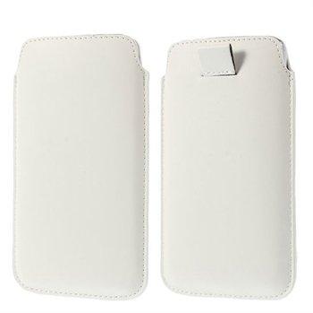 Image of   Samsung Galaxy S5/S5 Neo Pull Up Taske/Etui - Hvid