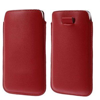 Billede af Samsung Galaxy S5/S5 Neo Pull Up Taske/Etui - Rød