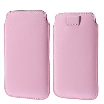 Image of   Samsung Galaxy S5/S5 Neo Pull Up Taske/Etui - Pink