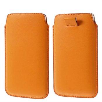 Image of   Samsung Galaxy S5/S5 Neo Pull Up Taske/Etui - Orange