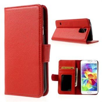 Billede af Samsung Galaxy S5/S5 Neo FlipStand Taske/Etui - Rød