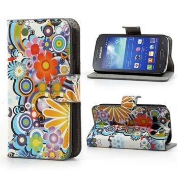 Image of Samsung Galaxy Ace 3 FlipStand Taske/Etui - Flower Power