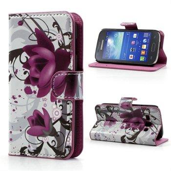 Image of Samsung Galaxy Ace 3 FlipStand Taske/Etui - Lotus Flower