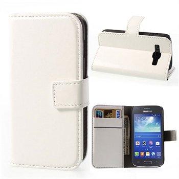 Image of Samsung Galaxy Ace 3 FlipStand Taske/Etui - Hvid