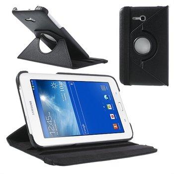 Billede af Samsung Galaxy Tab 3 Lite Rotating Kickstand - Sort