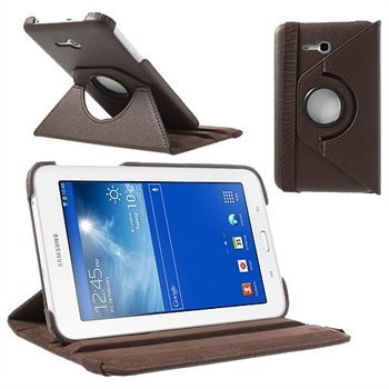 Billede af Samsung Galaxy Tab 3 Lite Rotating Kickstand - Brun
