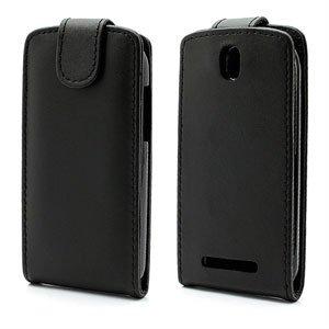 Image of HTC One SV FlipCase Taske/Etui - Sort