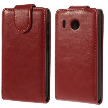 Image of Huawei Ascend Y320 Flip Cover - Rød