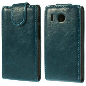 Billede af Huawei Ascend Y320 Flip Cover - Blå