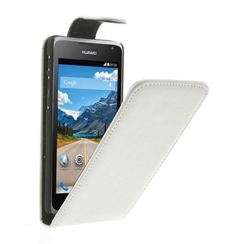 Image of Huawei Ascend Y530 Style Flip Cover - Hvid