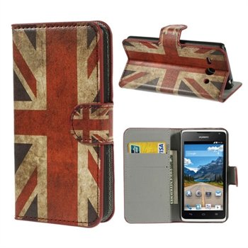 Image of Huawei Ascend Y530 Flip Cover Med Pung - Union Jack