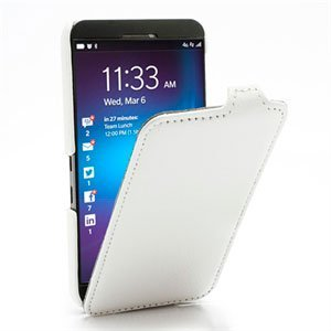 Image of BlackBerry Z10 FlipCase Taske/Etui - Hvid
