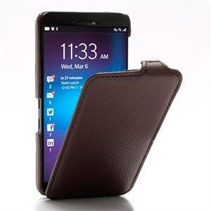 Image of BlackBerry Z10 FlipCase Taske/Etui - Brun