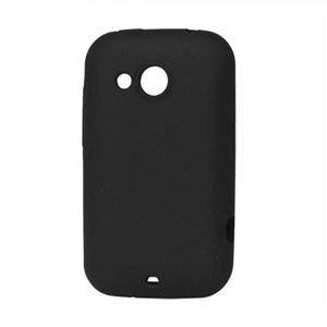 Image of HTC Desire C Silikone cover fra inCover - sort