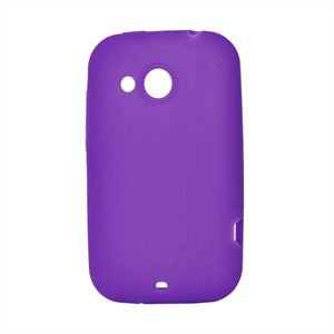 Image of HTC Desire C Silikone cover fra inCover - lilla