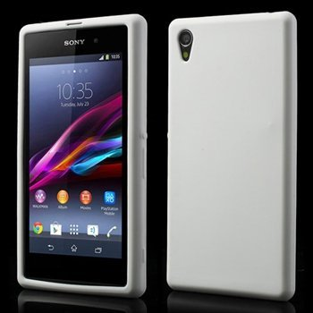 Image of   Sony Xperia Z1 inCover Silikone Cover - Hvid