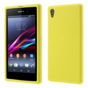 Billede af Sony Xperia Z1 inCover Silikone Cover - Gul