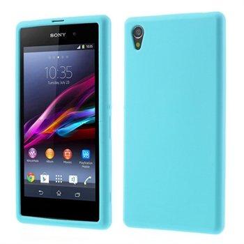 Billede af Sony Xperia Z1 inCover Silikone Cover - Lys Blå