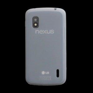 Billede af Google Nexus 4 Silikone cover fra inCover - hvid