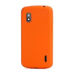 Billede af Google Nexus 4 Silikone cover fra inCover - orange