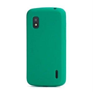 Billede af Google Nexus 4 Silikone cover fra inCover - grøn