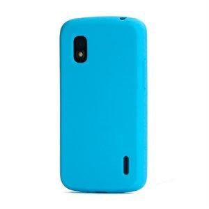 Billede af Google Nexus 4 Silikone cover fra inCover - blå