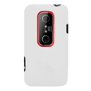 Image of HTC EVO 3D Silikone cover fra inCover - hvid