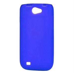 Billede af Samsung Galaxy W Silikone cover fra inCover - blå