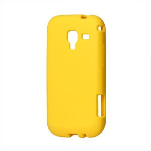 Image of Samsung Galaxy Ace 2 Silikone cover fra inCover - gul