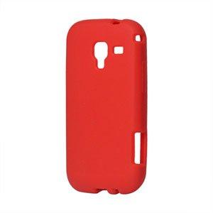 Billede af Samsung Galaxy Ace 2 Silikone cover fra inCover - rød