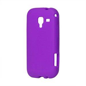 Billede af Samsung Galaxy Ace 2 Silikone cover fra inCover - lilla