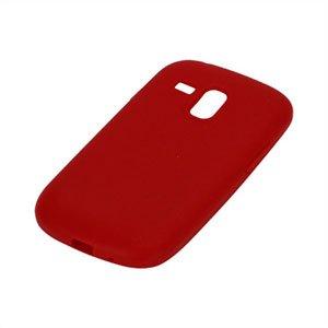 Billede af Samsung Galaxy S3 Mini Silikone cover fra inCover - rød