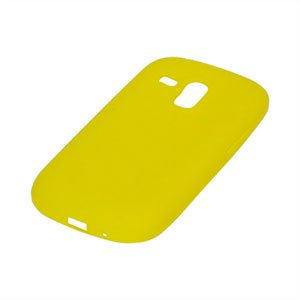 Billede af Samsung Galaxy S3 Mini Silikone cover fra inCover - gul